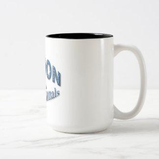 Londres pour des professionnels mug bicolore