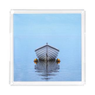 Lone Boat Acrylic Tray