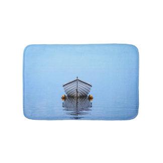 Lone Boat Bathroom Mat