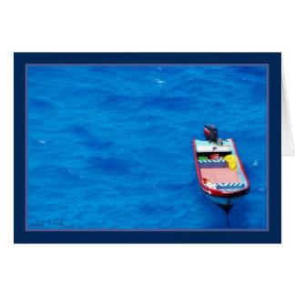 Lone Boat Card