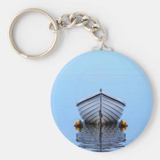 Lone Boat Keychain