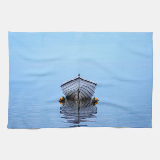 Lone Boat Kitchen Towel