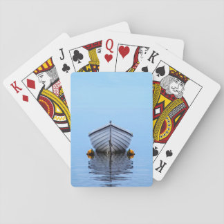 Lone Boat Playing Cards