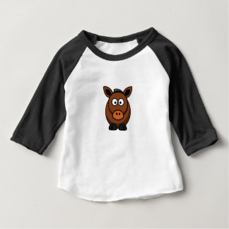 lone donkey baby T-Shirt