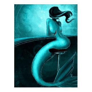 Lone Mermaid Postcard