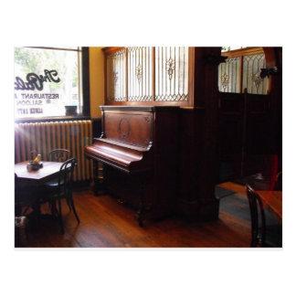 Lone Piano Postcard