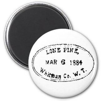 Lone Pine Ghostmark 2 Inch Round Magnet