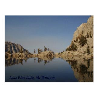 Lone Pine Lake Postcard
