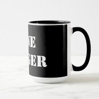 Lone Ranger Black 15 oz Ringer Mug