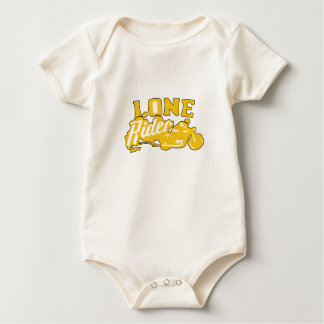 Lone Rider Great Gift Motorcycle Biker Bike Baby Bodysuit