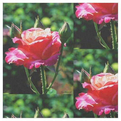 Lone Rose Fabric