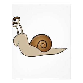 lone snail yeah letterhead