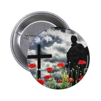 Lone Soldiers WW1 2 Inch Round Button