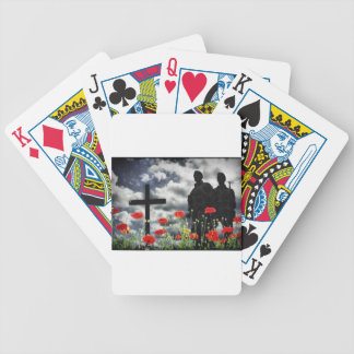Lone Soldiers WW1 Bicycle Playing Cards