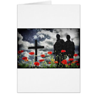 Lone Soldiers WW1 Card