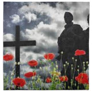 Lone Soldiers WW1 Napkin