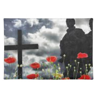 Lone Soldiers WW1 Placemat