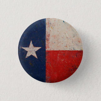 Lone Star 1 Inch Round Button