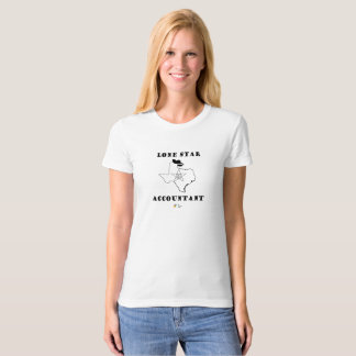 Lone Star Accountant T Shirt Womens Organic Cotton