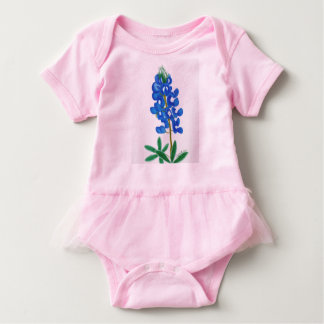 Lone Star Bluebonnet Baby Bodysuit