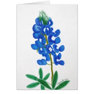 Lone Star Bluebonnet Note Card