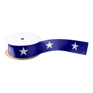 Lone Star Bonnie Blue Patriotic Ribbon Satin Ribbon