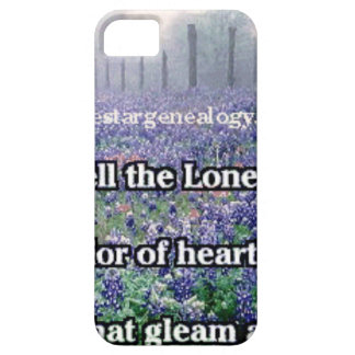 Lone Star Genealogy Poem Bluebonnet Case For The iPhone 5
