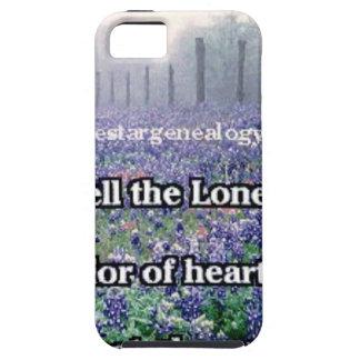 Lone Star Genealogy Poem Bluebonnet iPhone 5 Covers