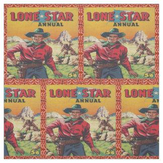Lone StarTexas Cowboy Western Fabric