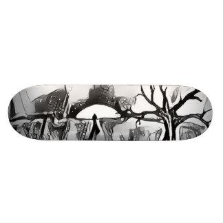 Lone Sun BY JunkDrawr Skateboards