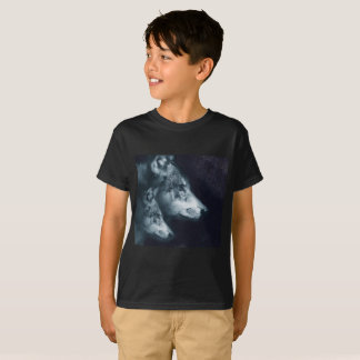 Lone Super Sonic Wolf and Cub Shirt - Cub Sized