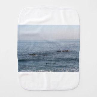 lone surfer burp cloth