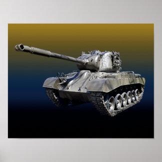 "Lone Tank - 14"" x 11"" Poster"