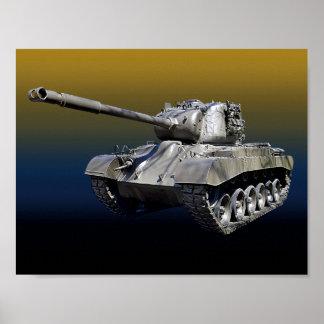 "Lone Tank 8-1/2"" x 11"" Poster"