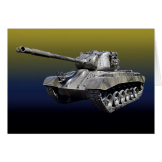 Lone Tank - Blank Inside Greeting Card