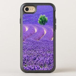 Lone tree in Lavender Field, France OtterBox Symmetry iPhone 8/7 Case