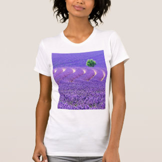Lone tree in Lavender Field, France T-Shirt