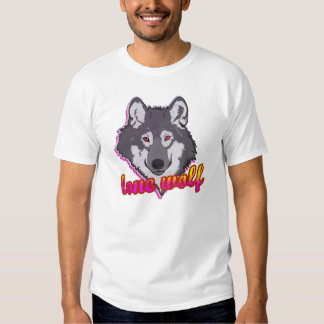 Lone Wolf, 80's style! Tee Shirts