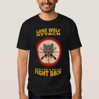LONE WOLF ATTACKS SHIRT