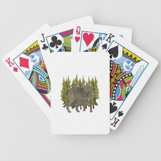 Lone Wolf Bicycle Playing Cards