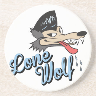 Lone Wolf Drink Coasters