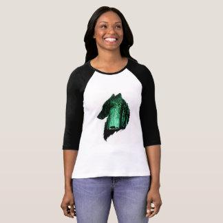LONE WOLF FULL HAND SLEEVE FOR WOMEN T-Shirt