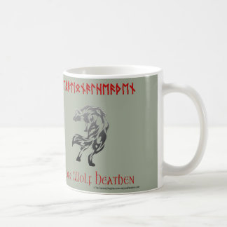 Lone Wolf Heathen Rational Heathen Mug