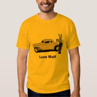 """Lone Wolf"" Hot Rodder T shirt"