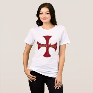 Lone Wolf Iron Cross Ladies Relaxed Fit T-Shirt
