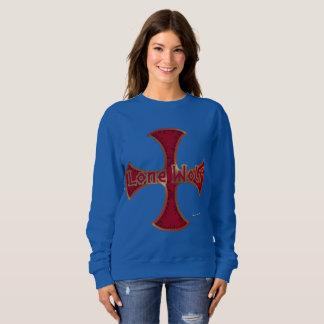 Lone Wolf Iron Cross Ladies Sweatshirt