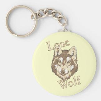 Lone Wolf Keychain