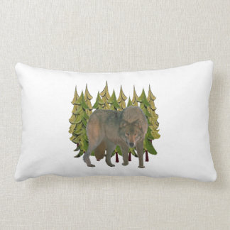 Lone Wolf Lumbar Pillow