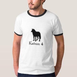 Lone Wolf (Men's Ringer T) T Shirt