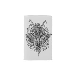 Lone Wolf Pocket Moleskine Notebook